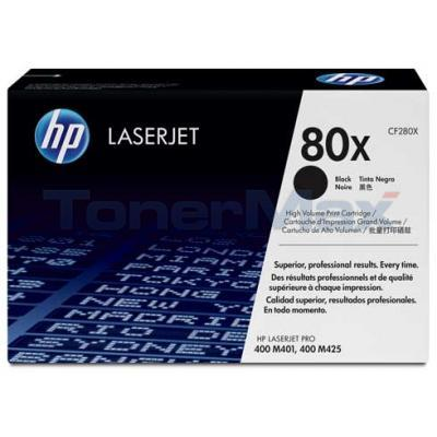 HP 80X TONER CARTRIDGE BLACK 6.9K